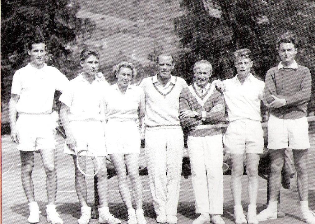 Die Siegermannschaft von 1956